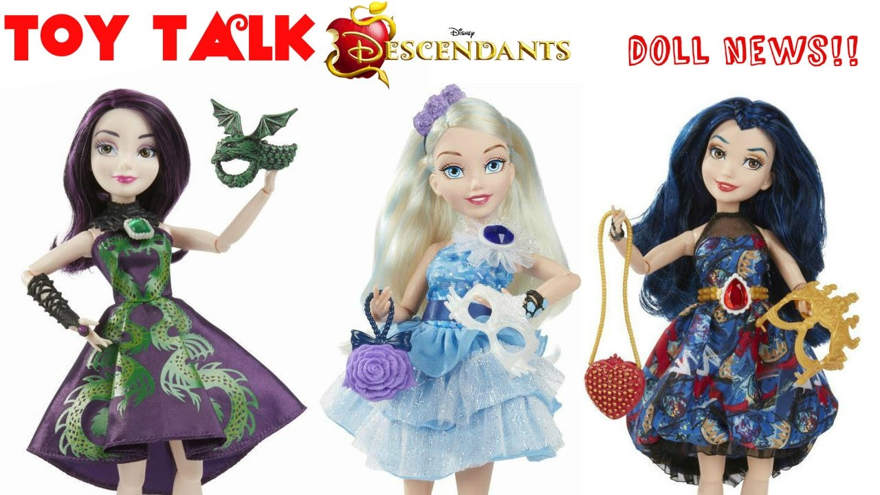 Disney Descendants Jewel Bilee Mal Evie Amp Ally Dolls
