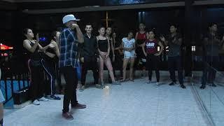 Luis E Rojas // BeatKing - Exhibición de Hip Hop en la Academia DANCUSAVI