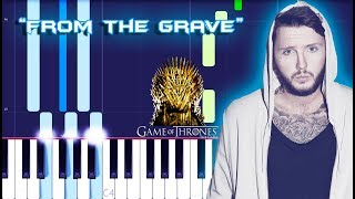 James Arthur - From The Grave Piano Tutorial (Game Of Thrones)
