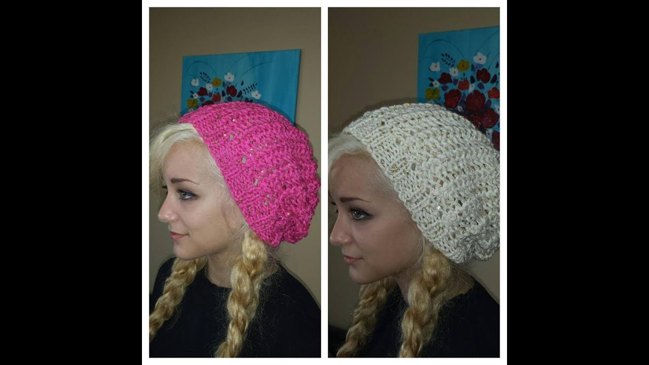 a006b09ee How to knit a hat and scarf set easy and fast to make - with Ruby Stedman.