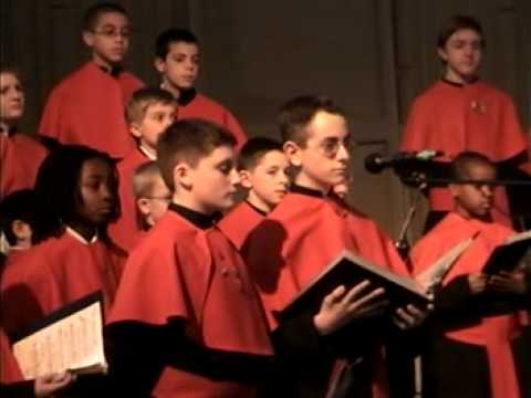 "Archdiocesan Boy Choir of Philadelphia perform ""Laudate Dominum"""
