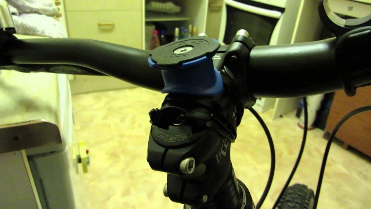 Quad Lock Iphone 5 Bicycle Mount Youtube