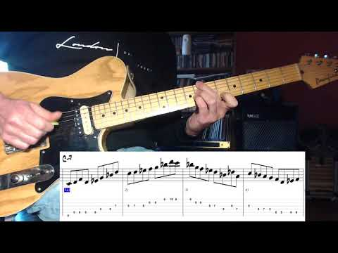 Jazz Guitar - Pat Martino Dorian Lick 5 - different position
