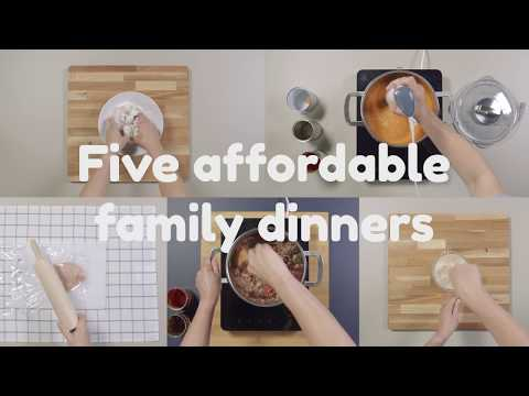 Five Affordable Family Dinner Recipes