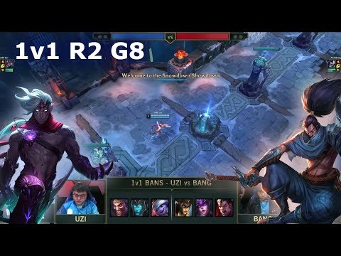 Uzi Varus Vs Bang Yasuo | 1vs1 Round 2 2019 All-Star Las Vegas | LPL Vs LCS