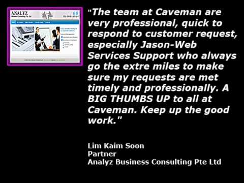 Caveman International Pte. Ltd - Website Design Testimonials