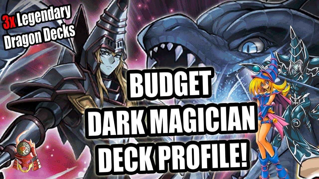 yu gi oh best budget dark magician deck profile 3x legendary