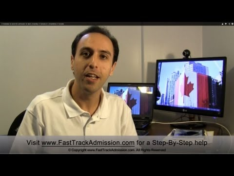 3 mistakes to avoid for admission to best university in Canada on universities in Canada