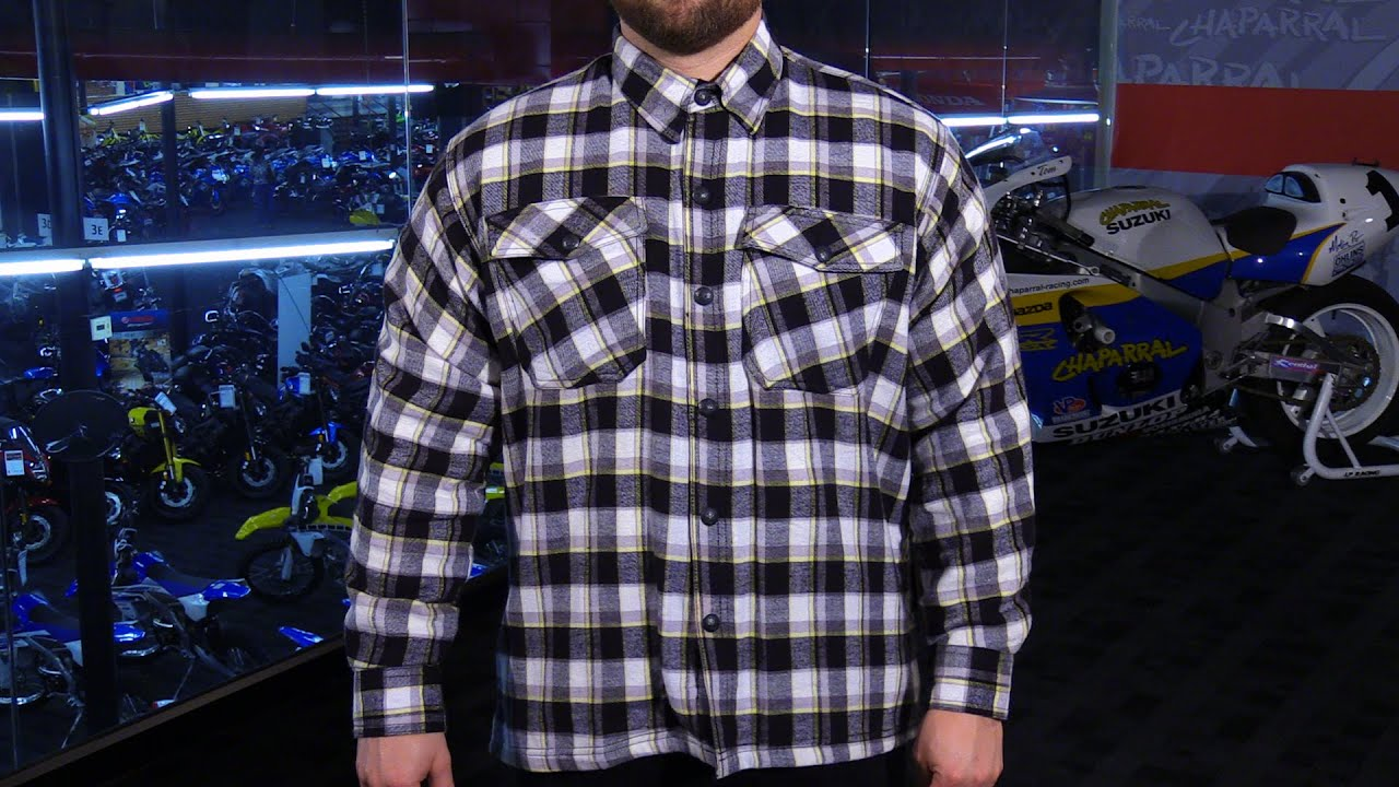 753e20e9ac Scorpion EXO Covert Armored Motorcycle Flannel Shirt Review - YouTube