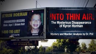 Missing Boy's Parents Still Have Hope.  'Into Thin Air: The Mysterious Disappearance of Kyron Hor…