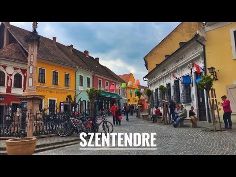 Old town Szentendre, Hungary ...