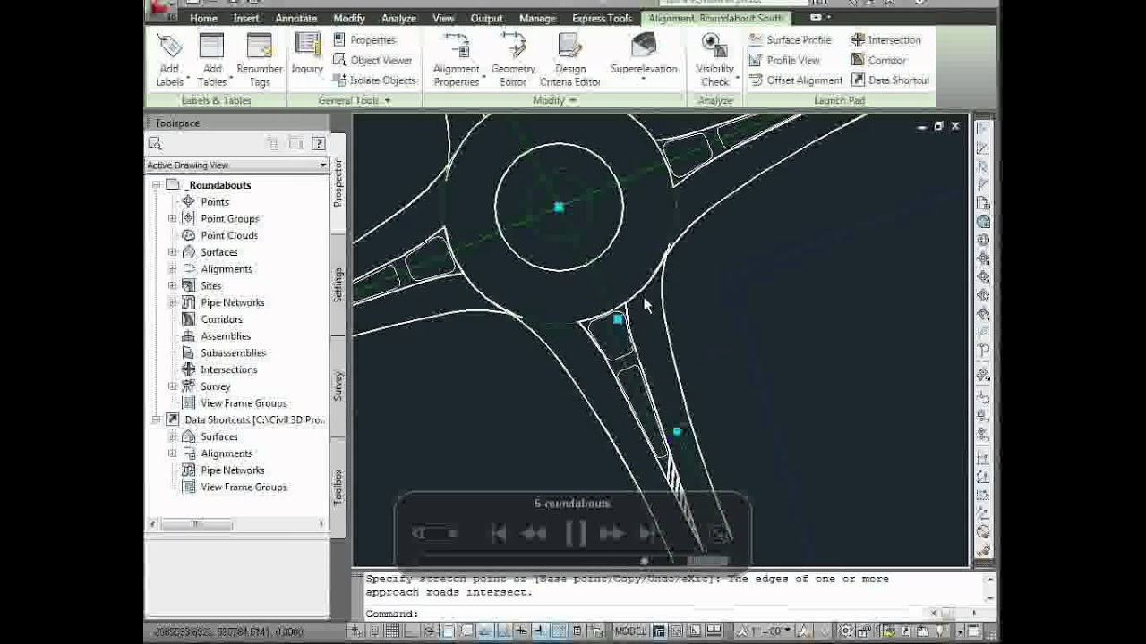 Autodesk Civil 3d Civil Engineering With Imagery Youtube