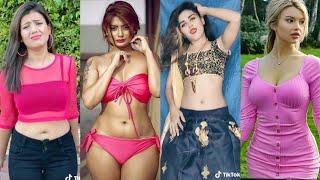 Latest Tik Tok Funny Girls Videos | New TikTok Hot Dance videos | Asman me jaise badal Tik Tok video