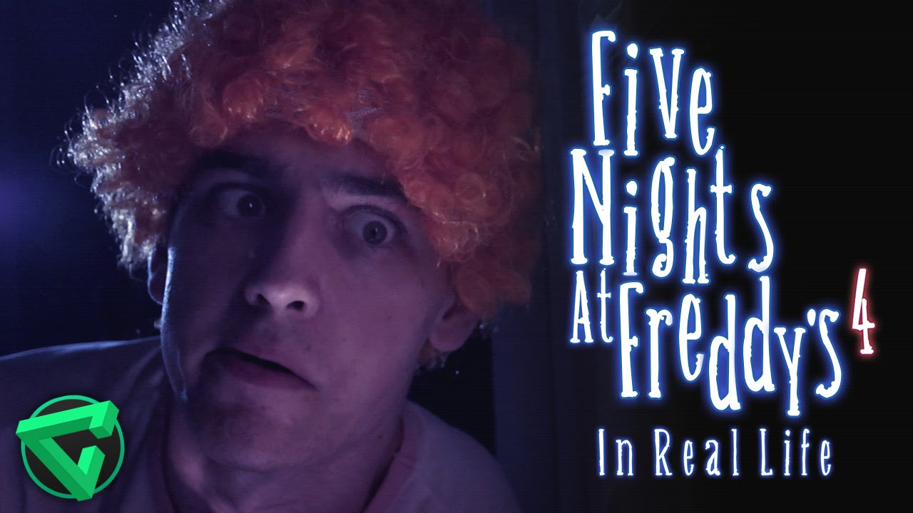 FIVE NIGHTS AT FREDDY'S 4 IN REAL LIFE | (FNAF 4 En la ...