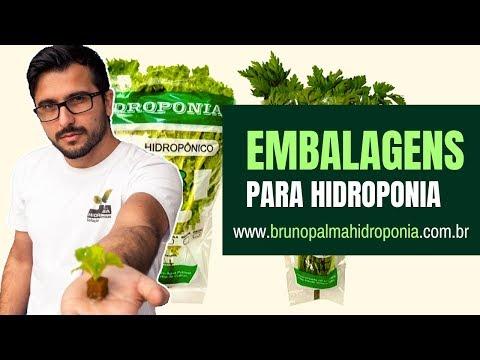 Embalagens para Hidroponia