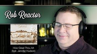 Pentatonix Reaction How Great Thou Art feat Jennifer Hudson