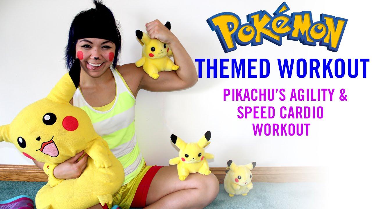 Pikachu 'Agility & Speed' Bodyweight Cardio Workout | 30 Day Challenge - Day 1 | Pokémon Themed