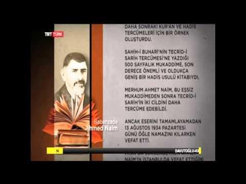 Babanzâde Ahmet Naim