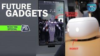 Panasonic Next 100: Future Gadgets : EXCLUSIVE: Tech Tak