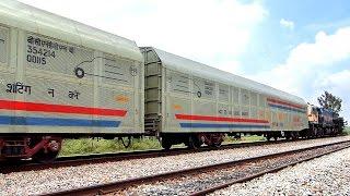 The Car Carrier : Indian Railways Freight Wagon