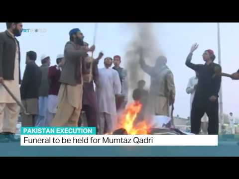 Funeral to be held for Mumtaz Qadri in Pakistan thumbnail