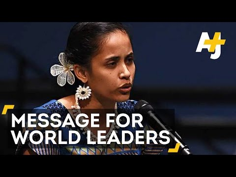 Marshall Islands Poet Has Powerful Message For COP21 Leaders