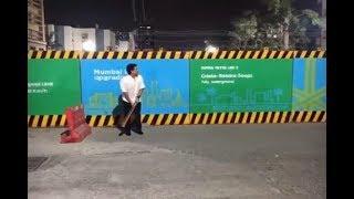 Sachin Tendulkar Playing Cricket On The Streets Of Mumbai With Boys