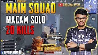 [16.63 MB] Main Squad Macam Solo!! 20 Kills! Fredo Gameplay | PUBG Mobile Malaysia