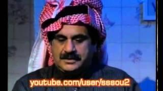 مسلسل قاصد خير - اجتماع في القهوة (عفوية وضحك وارتجال في مشهد قاده الراحل عبدالحسين بكل اقتدار)