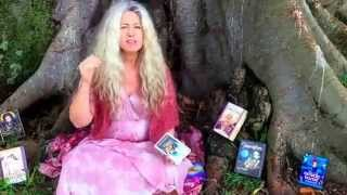 The art of oracle card reading