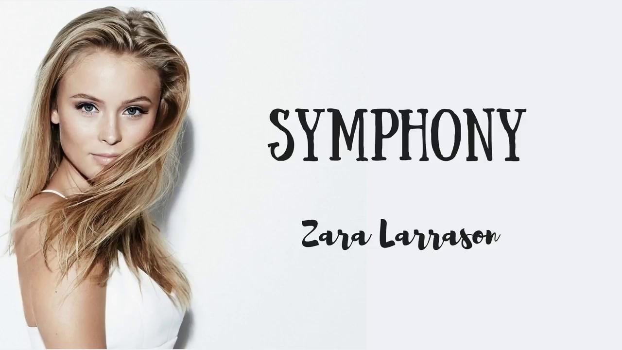 Clean Bandit Symphony Lyrics Feat Zara Larsson Youtube