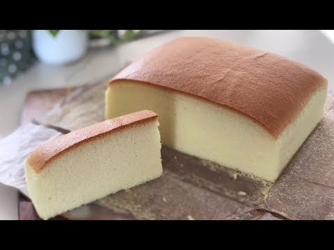 Japanese Cotton Sponge Cake 日式棉花蛋糕