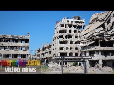 Porak Poranda Kota Homs, Imbas Perang Suriah