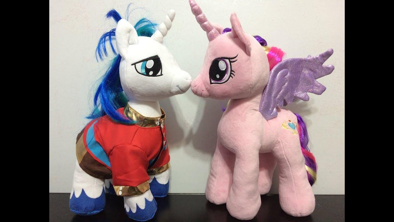 Build A Bear Shining Armor & Princess Cadance Plushie Review - My Little Pony - YouTube