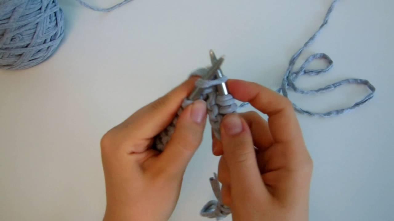 Мастер-класс: Пуф крючком из трикотажной пряжи. - YouTube