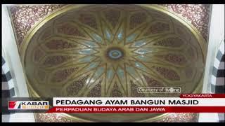 Kisah Seorang Ibu Pedagang Ayam Bangun Masjid Megah di Yogyakarta