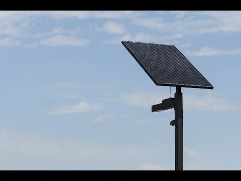 Smart solar street light installation part 3