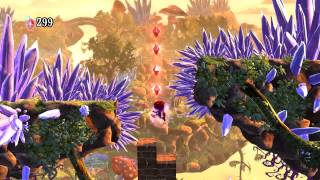 Giana Sisters - Twisted Dreams: Level 2-1, Crystal Canyon [545/545]