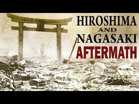 Hiroshima and Nagasaki After the Atomic Bombings   US Army Documentary on the Aftermath