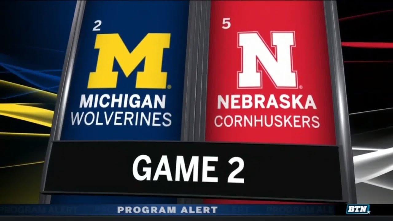 Highlights: Nebraska Beats Michigan to Advance and Play for