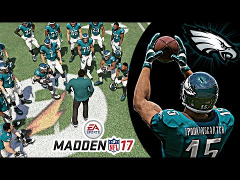 Madden 17 Career Mode Gameplay - Creation of My Wide Receiver | Ep 1 (Speed WR Build)