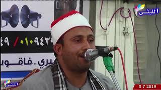 تلاوه تحبيرية للشيخ محمود حسين عبدالسميع أول سورة النساء عزاء الحاج كمال النبراوي 5 7 2019