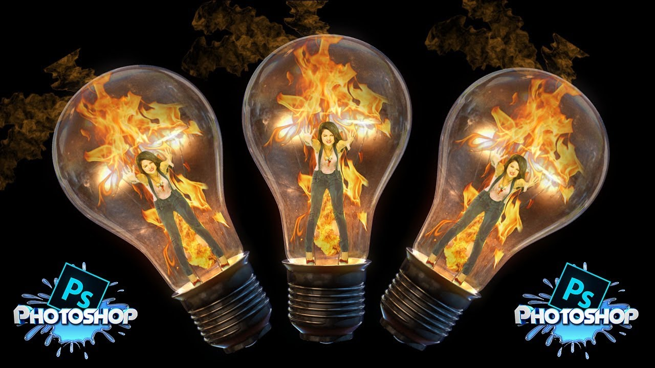Photoshop tutorial photoshop manipulation fire bulb youtube photoshop tutorial photoshop manipulation fire bulb baditri Gallery