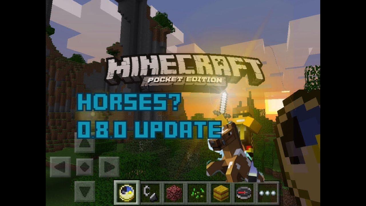 minecraft pe update 0.8.0