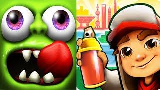 Subway Surfers Shanghai vs Zombies Tsunami Android Full Gameplay