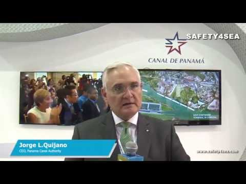 Interview with Jorge L.Quijano, Panama Canal Authority
