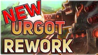 NEW URGOT CHAMPION REWORK GAMEPLAY IS AMAZING!! 10,000 TRUE DAMAGE WTF?? - PBE
