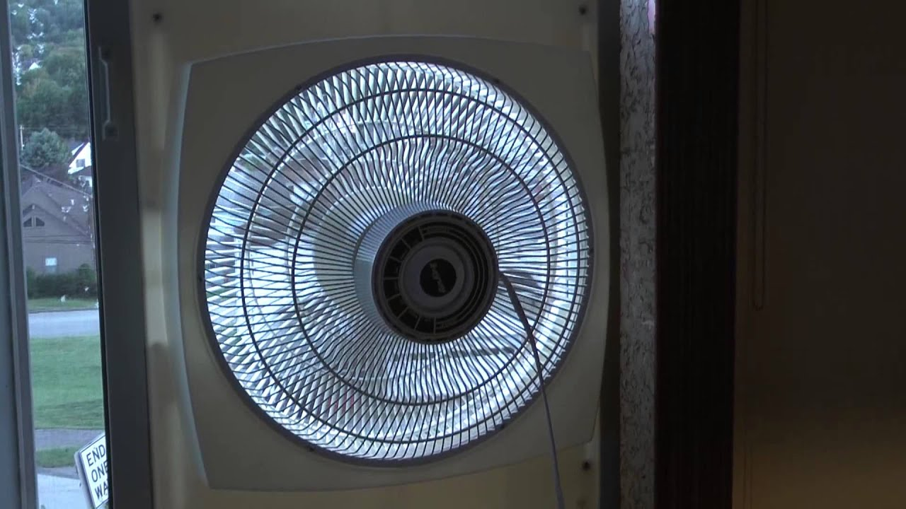 The Air King Model 9155 16 Quot Window Fan Youtube
