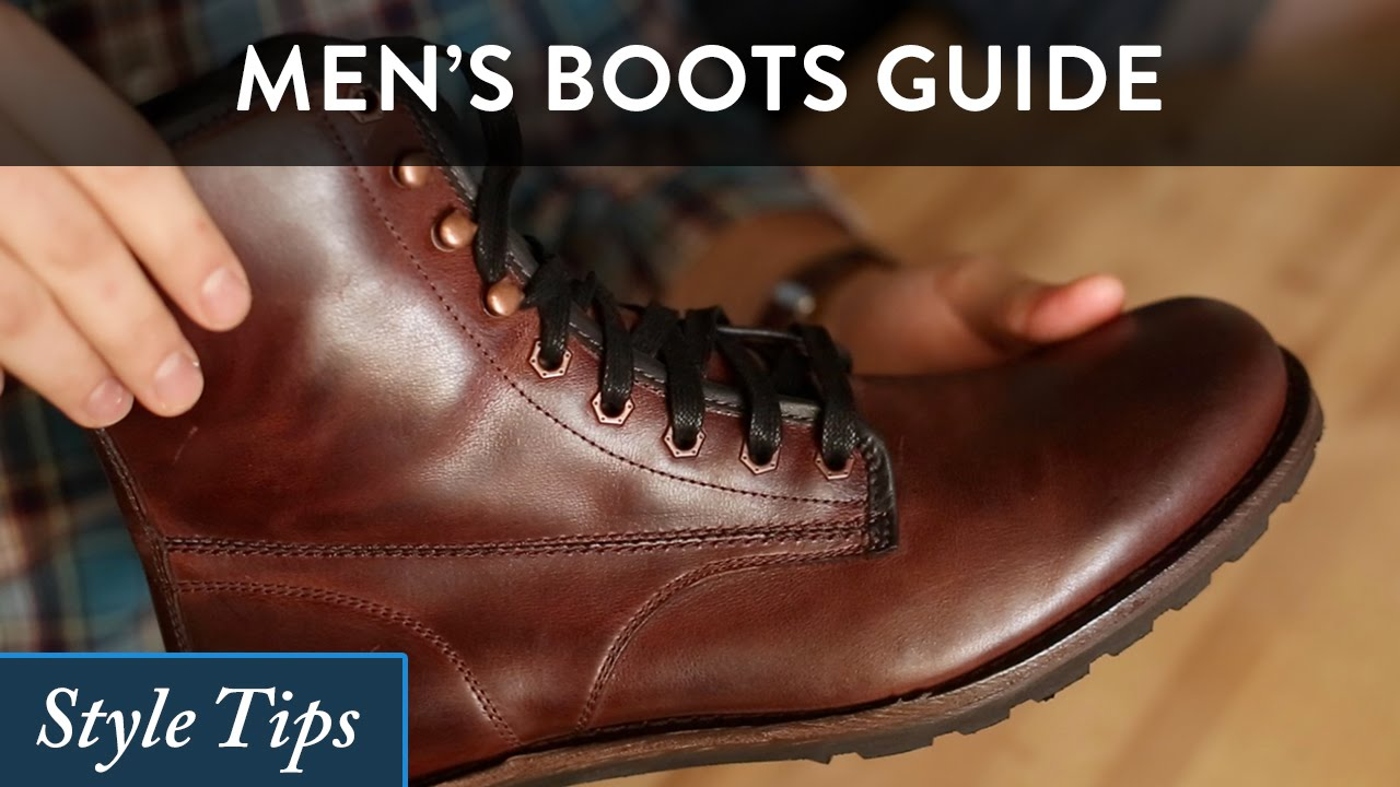 5d16ad83f2007 How to Wear Men s Boots - A High Level Style Guide - YouTube