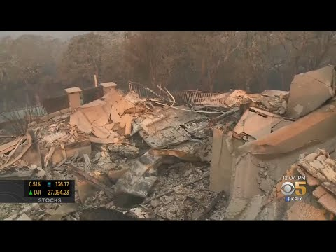 Firefighters Monitor Kincade Fire Hot Spots As Dozens Of Structures Are Destroyed